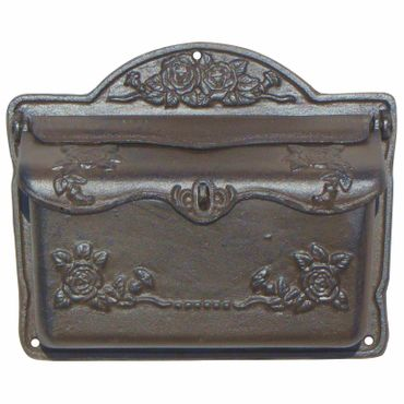 Mailbox antique design cast iron nostalgic high quality  – image 3