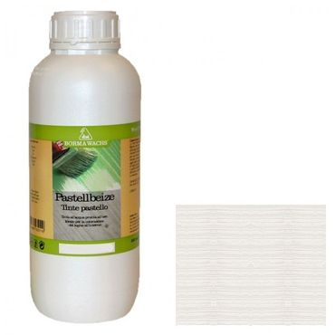 Borma Wachs Stain Pastel Collection Naturaqua White 1L Woodworking