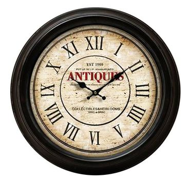 Antiques est 1909 antique reproduction wall clock