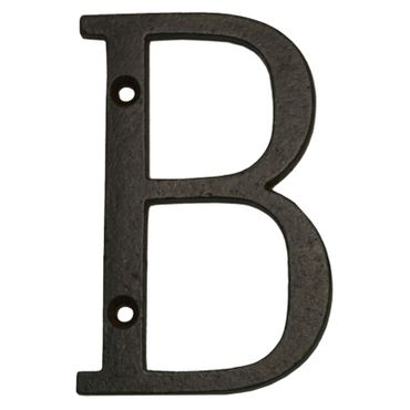 Antique iron letter house number metal A - Z  – image 3