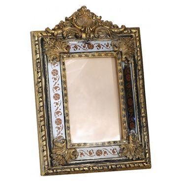 Mirror picture frame antique baroque design ornaments  – image 2