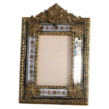 Mirror picture frame antique baroque design ornaments  – image 1