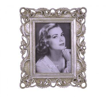 Big picture frame wedding picture portrait pidgeon vintage silver frame