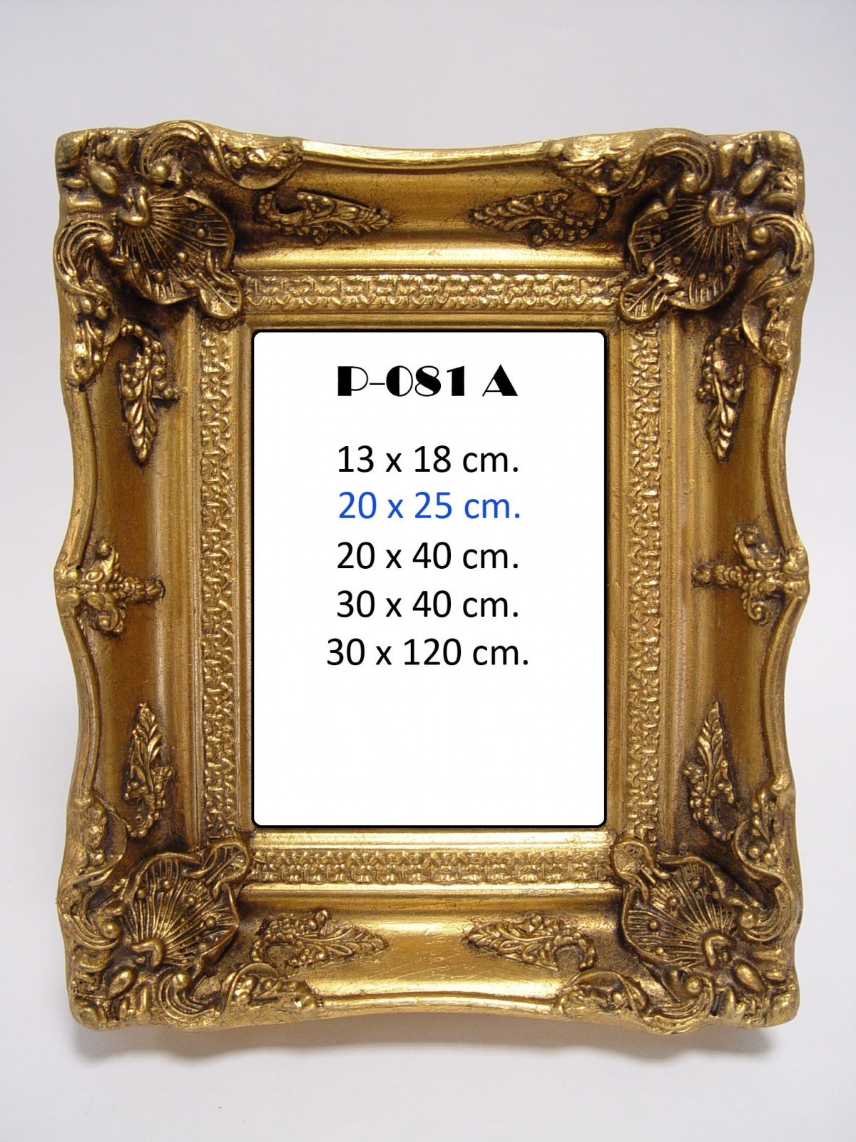 Golden frame oil painting picture frame resin wall decoration luxury ...