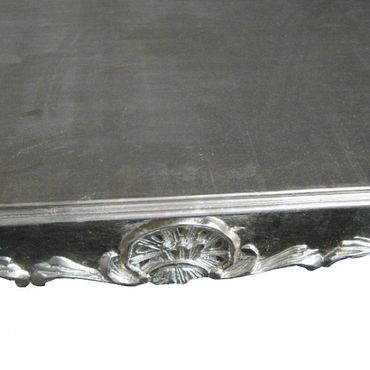 Silver Antique Baroque Dining Room Table 80x80cm – image 3