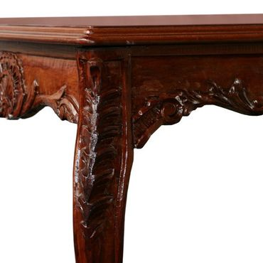 Beautiful Hand Crafted Mahogany Table 160cm Long – image 2