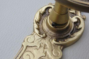 Türgriff aus Messing im Barock-Design - Türgriff-Set – Bild 5