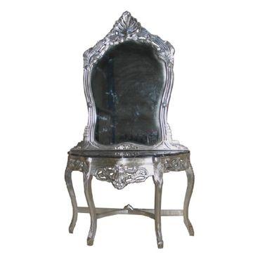 Mirror wall bracket Baroque Antique Mirror Console pomp