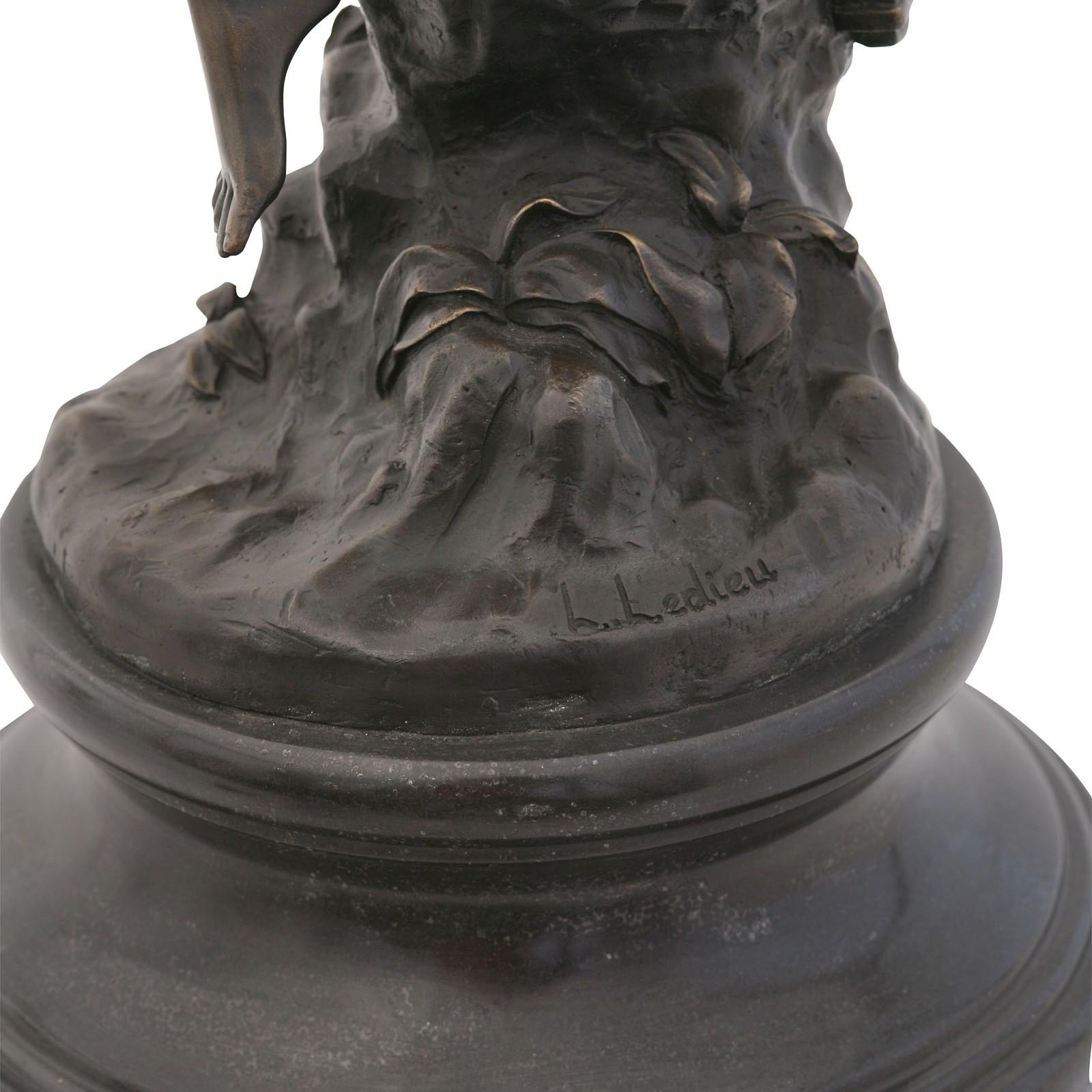 bronzefigur frau bogensch tzin antike dekoration online kaufen bronze skulptur. Black Bedroom Furniture Sets. Home Design Ideas