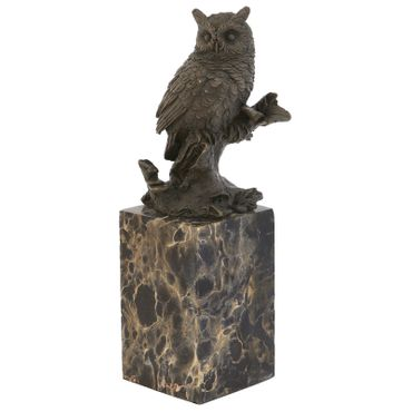 Bronze Owl Animal Representation purchase online for decorating and designing owl bronze figure – image 4