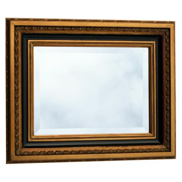 kristall spiegel barock wandspiegel gold schwarz 40x50 barockspiegel vergoldet. Black Bedroom Furniture Sets. Home Design Ideas