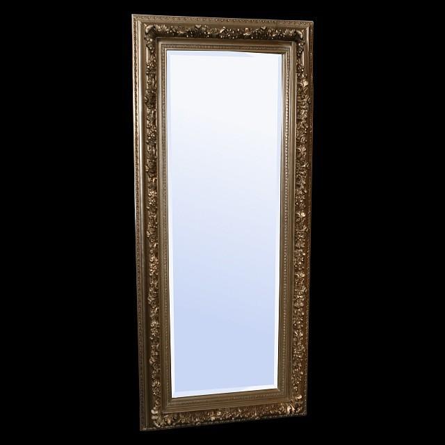 barock silber spiegel antiker look wandspiegel gro er standspiegel 92 x 152cm. Black Bedroom Furniture Sets. Home Design Ideas