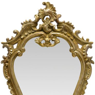 Beautiful Mirror with Shelf Vanity Gold Frame for Bathroom or Bedroom – image 2