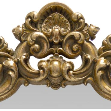 Beautiful Gold Framed Mirror with Extravagant Decoration Baroque Home Decor – image 2