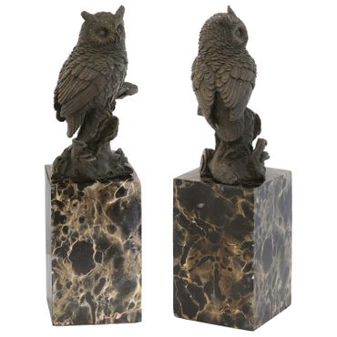 Bronze Owl Animal Representation purchase online for decorating and designing owl bronze figure – image 2