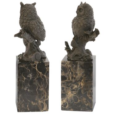 Bronze Owl Animal Representation purchase online for decorating and designing owl bronze figure – image 3