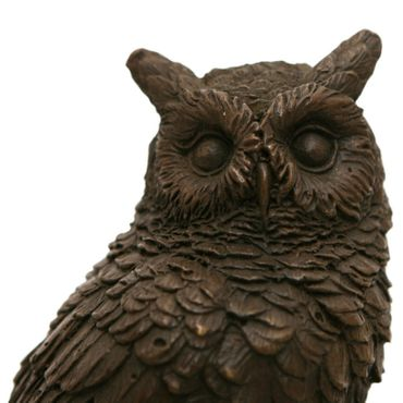Bronze Owl Animal Representation purchase online for decorating and designing owl bronze figure – image 5