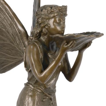 Fairies fairytale bronze figure 45 cm bronze sculpture Elfe Garden – image 4