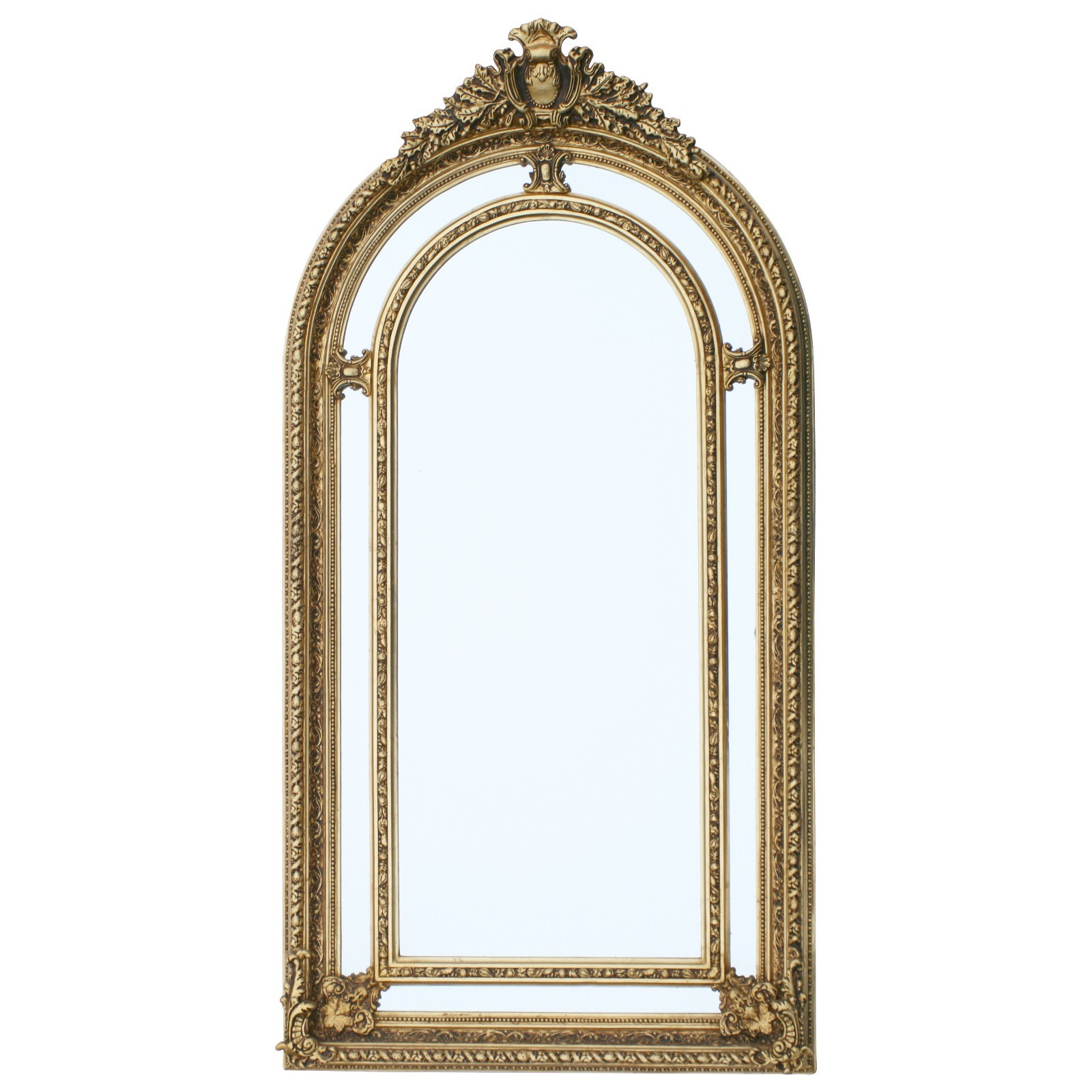 Mirror luxurious with gold frame Baroque luxury large wall mirror ...