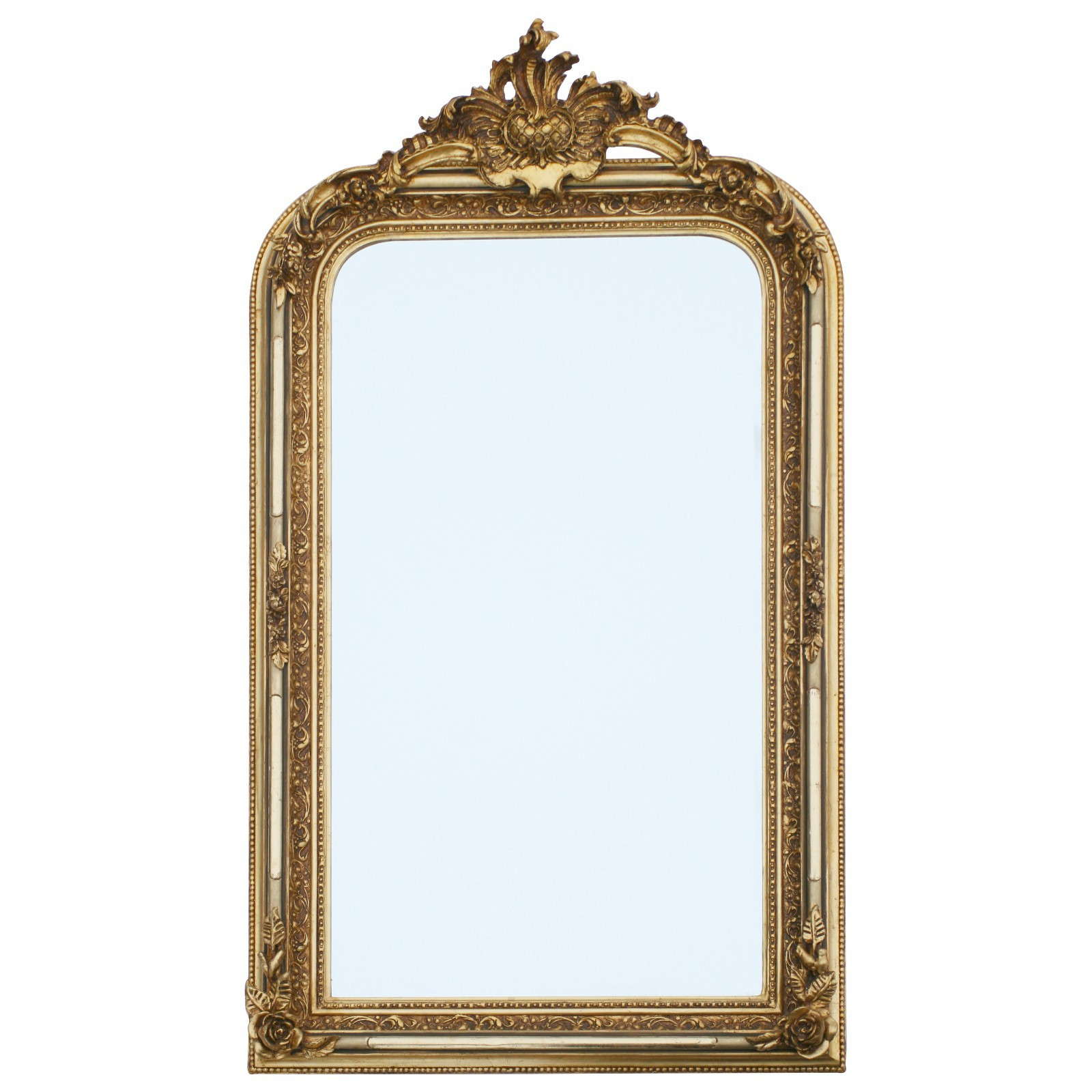 Wall mirror large ostentatious luxury baroque mirror with bevelled ...
