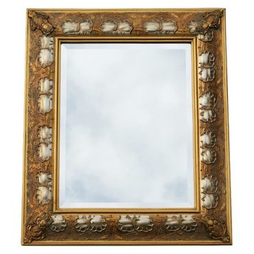 Art frame frame wood superb baroque crystal mirror mirror 60 x 120 cm/ 24 x 47 inches gold silver – image 2