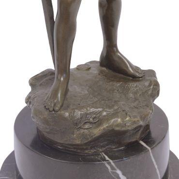 Bronze Fairy with Sword lost-wax Casting Method 51.5cm – image 4