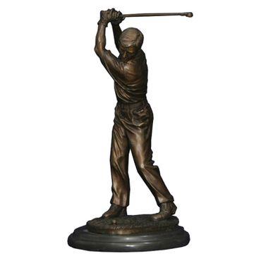 Bronze statue golfer sculpture figure golfer ornament garden marble collectable – image 2