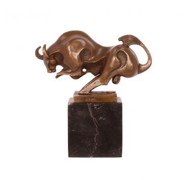 Bronze Bull Strong Bronze Modern Art 19cm