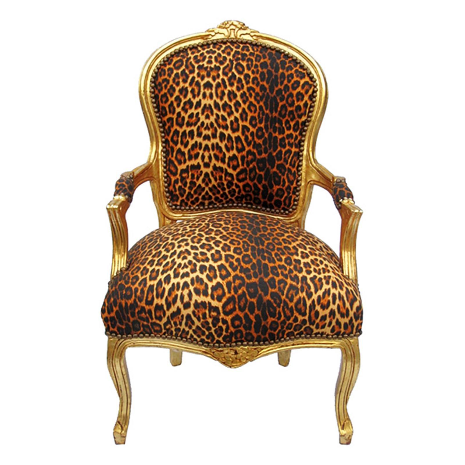 lounge sitzgruppe leoparden muster stoffbezug polsterm bel 2er set barock st hle. Black Bedroom Furniture Sets. Home Design Ideas