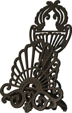 Nostalgic garden hose holder with antique look made of iron – image 2
