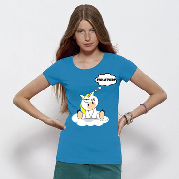 """#whatever"" Ladies Shirt – Bild 1"