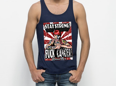 """Myriam von m- Stay strong"" Unisex Tank Top"