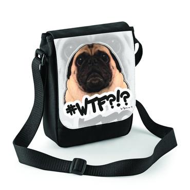"""WTF?!?"" Mini Reporter Bag"