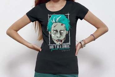 """ZombieMan"" Ladies Shirt"