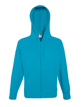 Lightweight Hooded Sweat Jacket – Bild 1
