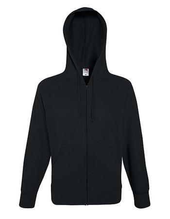 Lightweight Hooded Sweat Jacket – Bild 2