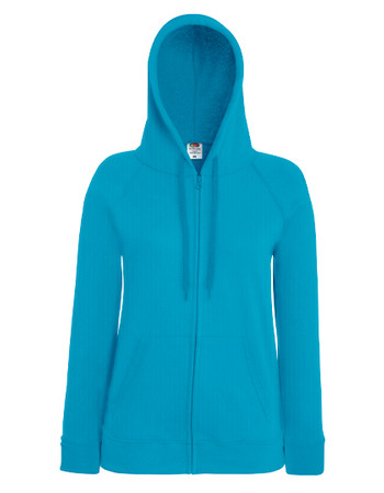 Lady-Fit Lightweight Hooded Sweat Jacket – Bild 1