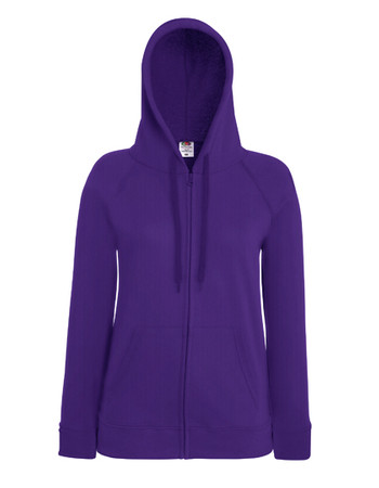 Lady-Fit Lightweight Hooded Sweat Jacket – Bild 11