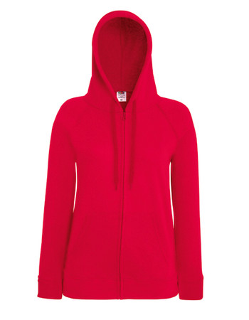 Lady-Fit Lightweight Hooded Sweat Jacket – Bild 12