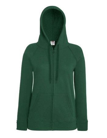 Lady-Fit Lightweight Hooded Sweat Jacket – Bild 3