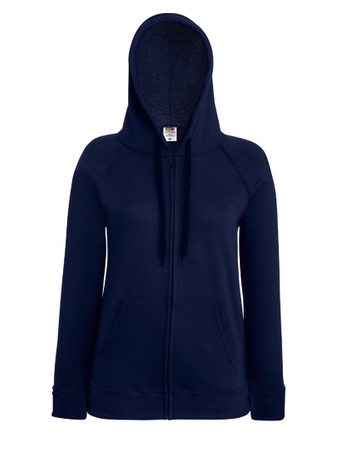 Lady-Fit Lightweight Hooded Sweat Jacket – Bild 5