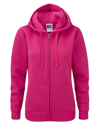 Ladies Authentic Zipped Hood – Bild 6