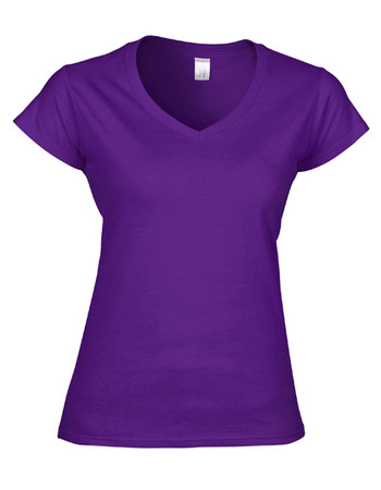 Softstyle® Ladies´ V-Neck T-Shirt – Bild 8