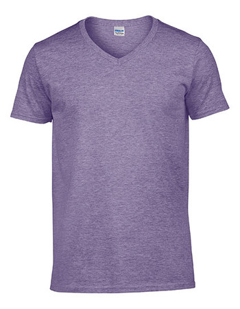 Softstyle® V-Neck T-Shirt – Bild 5