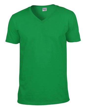 Softstyle® V-Neck T-Shirt – Bild 6