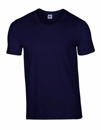 Softstyle® V-Neck T-Shirt – Bild 7