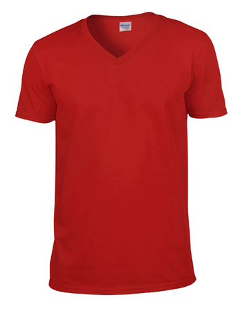 Softstyle® V-Neck T-Shirt – Bild 9