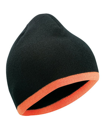 Beanie with Contrasting Border – Bild 1