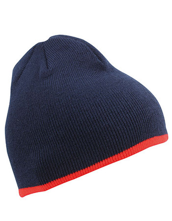 Beanie with Contrasting Border – Bild 7