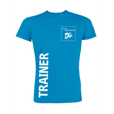 "Pausenexpress - ""Trainer"" T-Shirt Herren"